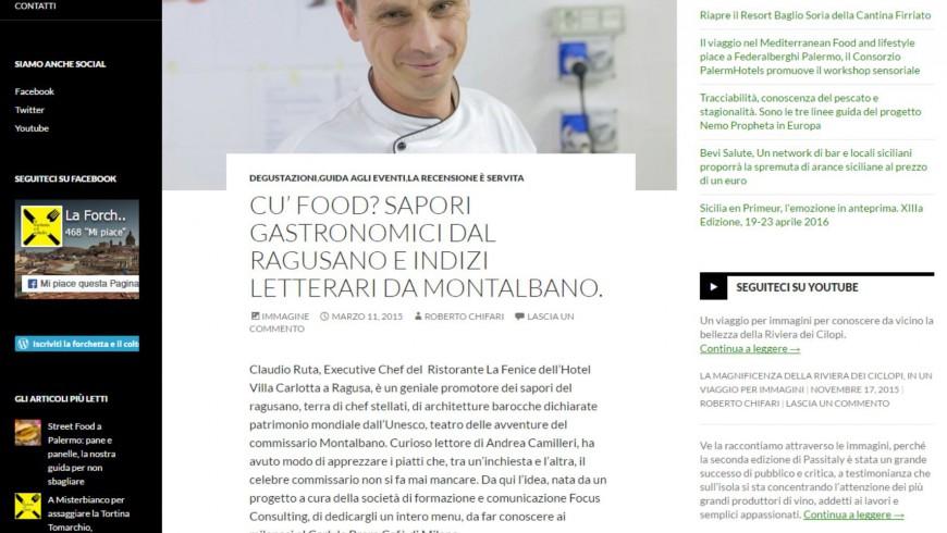 Cu' food? Sapori gastronomici dal Ragusano e indizi letterari da Montalbano